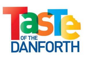 Taste of the Danforth Logo