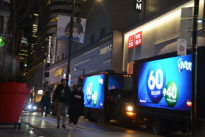 Digital Video Truck Ads company in Quebec City