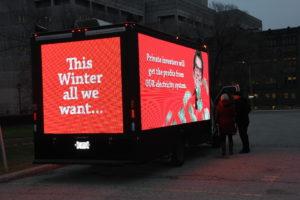 Digital Video Truck Ads company in Calgary Canada