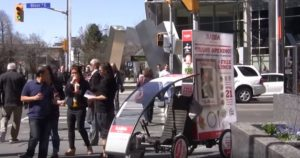 Mobile billboard Extrawheel