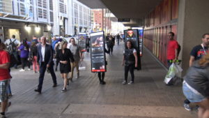 Backpack Walking Billboards company