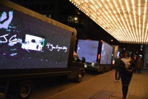 video trucks and video billboards