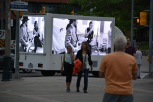 Top Digital Video ad display trucks Canada