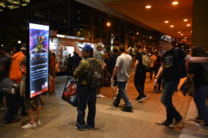 LED Walking Billboards for Events Canada