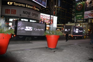 Video Display truck for promotions