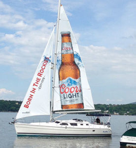 Sailboat Promo - coors