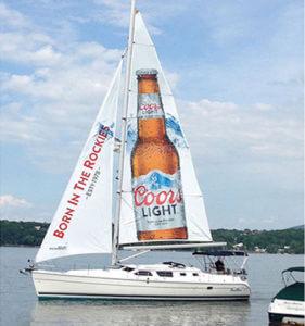 Sailboat Advertising TORONTO CAD