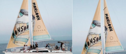 Wild On Media's Yacht Sails Bring Billboards to Lake Ontario